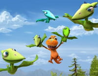 Le Dino train : Le camarade de pêche de Tiny