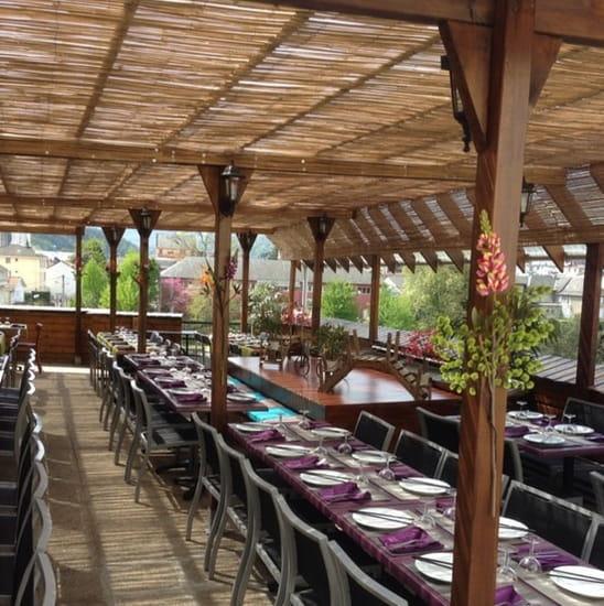 Restaurant : Chez Ly  - La terrasse panoramique  -