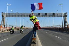 """A Bordeaux, on manifeste à pied et à vélo, la voiture """"c'est tellement cher!"""""""