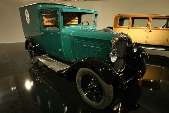 citro u00ebn c4 voiture de livraison de 1931