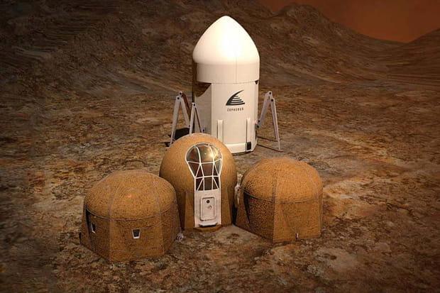 Quelles habitations pour Mars?