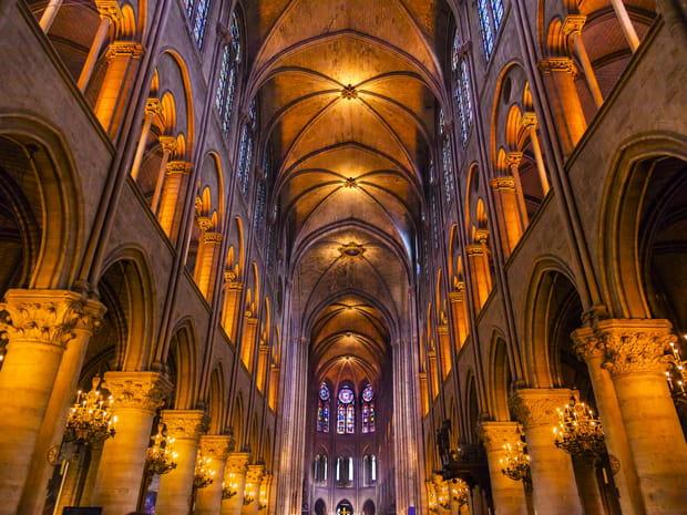 नोट्रे-डेम डे पेरिस, इतिहास के 850 वर्ष
