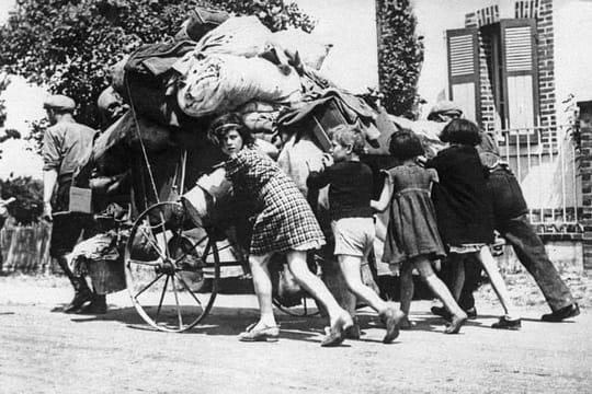 """Musée de la Libération de Paris: l'exposition """"Les Parisiens dans l'exode"""""""