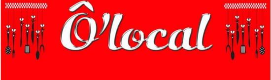 Restaurant : Ô Local  - Logo -   © 123