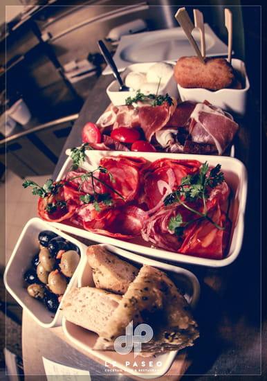 Plat : Le Paseo - Cocktail club & restaurant (Ex : LE SUD)  - Tapas -   © Le Paseo - Cocktail club & restaurant