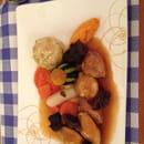 Plat : Le 7  - Filets de caille aux pruneaux -