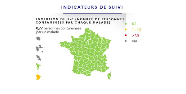 Carte du déconfinement : R0, ou taux de reproduction du virus