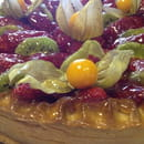 Dessert : Innamorato  - Tarte aux fraises -