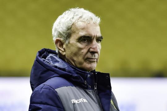 Raymond Domenechlimogé du FC Nantes: Estelle Denis préfère en sourire