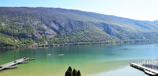 Les Roselières (Hôtel Novalaise Plage)  - Panorama sur le lac -