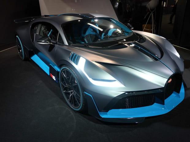 La Bugatti Divo en images au Mondial de l'Auto