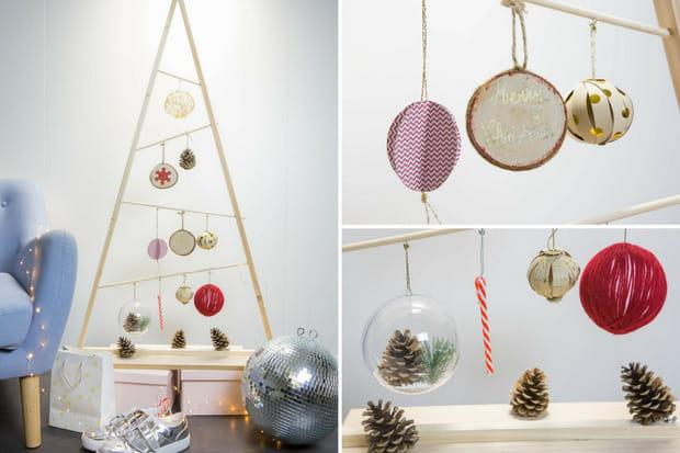 8 Tutoriels Diy Pour Fabriquer Des Boules De Noel