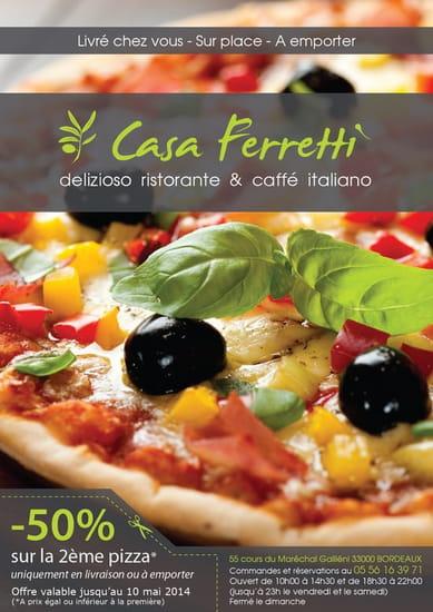 Casa Ferretti  - Promotion mars 2014 -   © casa ferretti