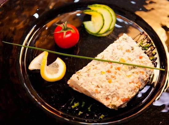 L'Ardoise  - Arlequin de petits légumes au thon -