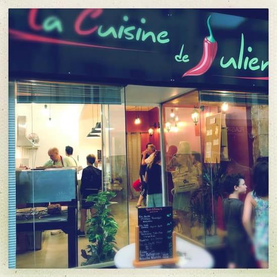 Restaurant : La Cuisine de Julien  - Devanture -   © Valérie TOPAN