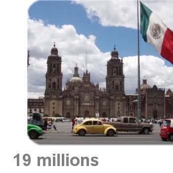 3 mexico - La plus grande villa du monde ...