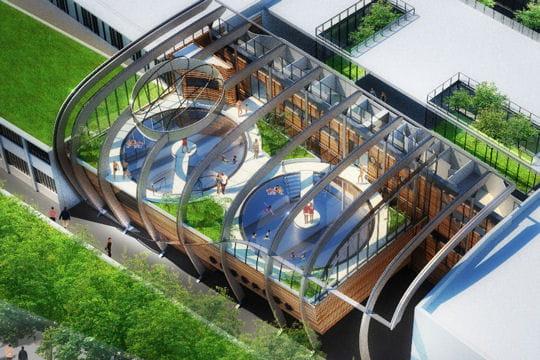 La piscine du futur, Green Wave