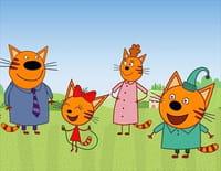 Coloriage Famille Chat.La Famille Chat Sur Le