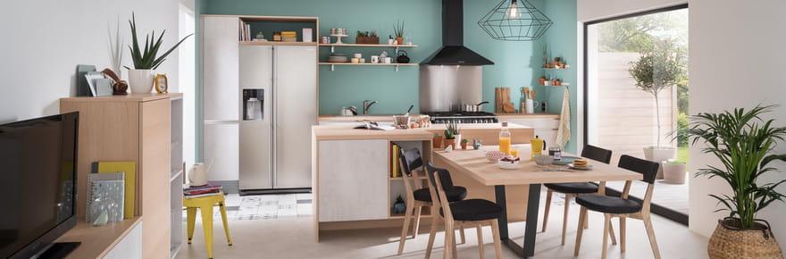 Cuisine ouverte: comment l'aménager? Idées, photos, conseils