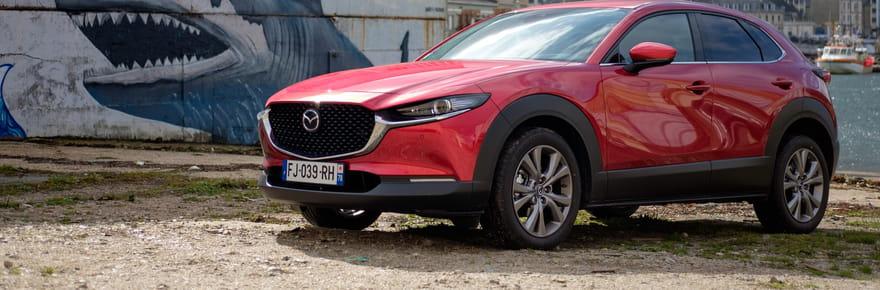 Essai du Mazda CX-30: un SUV peu gourmand ?