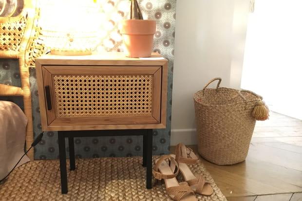 Un mini meuble de rangement