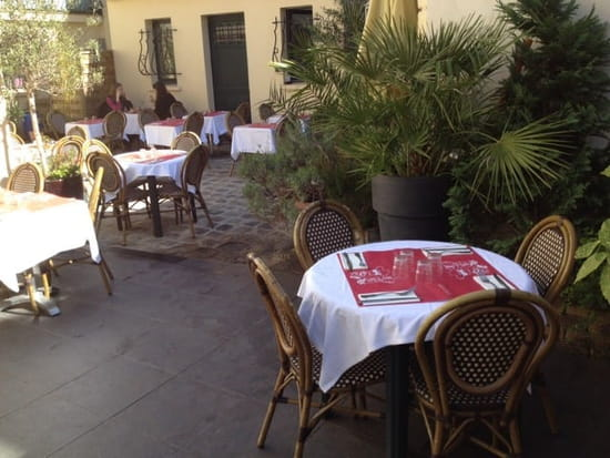 Restaurant : Le Saint Maurice  - Terrasse à l abri et ensoleillee  -