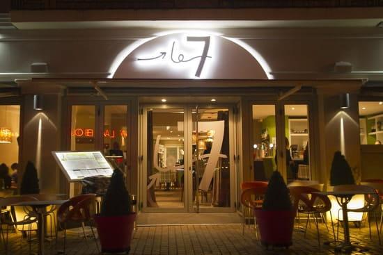 Brasserie le 7  - Le 7 la nuit -   © Jérôme Paressant