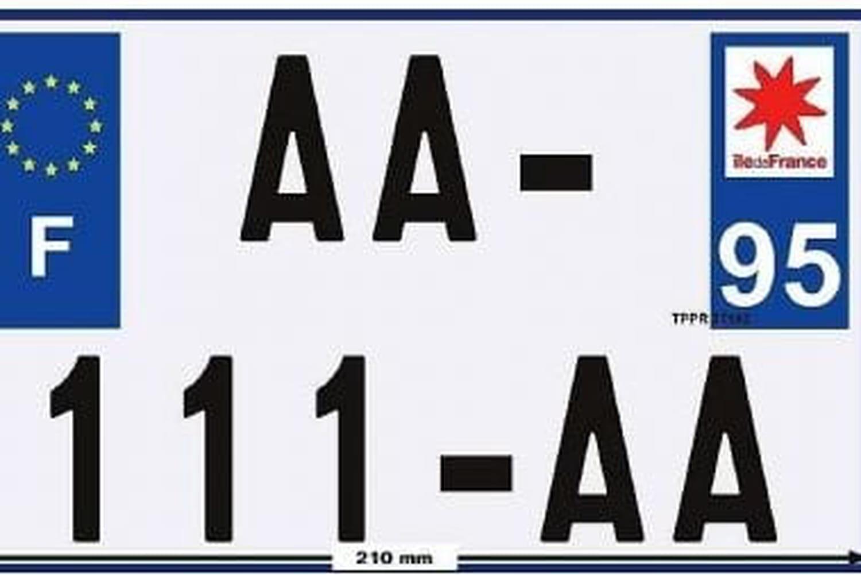 Plaques d'immatriculation moto: il faut en changer ce 1er juillet!