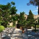 La Table de l'Abbaye  - Terrasse avec vue sur les alpilles -   © Lorenzo-Salemi