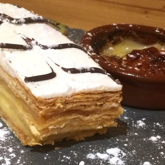 Dessert : Le TIti Lulu  - Millefeuille fait maison -