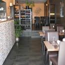 Restaurant le Safran Trets  - Entrée du restaurant Le Safran, Trets -   © M. TAUPINARD (MEVIM)