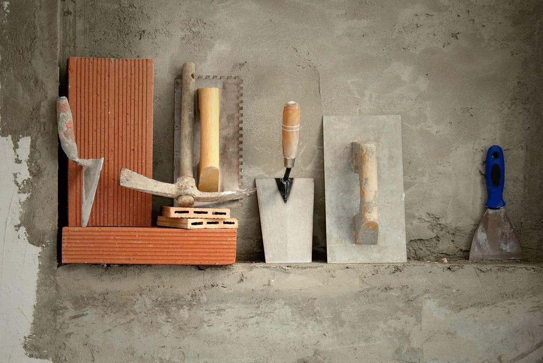 Liste des outils du maçon