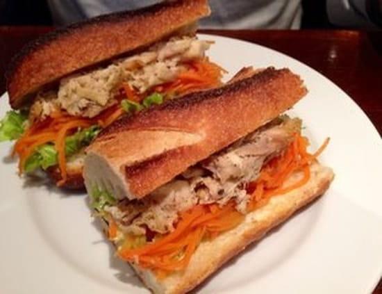 The Placeto Eat  - Sandwich poulet effiloche -