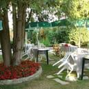 Hostellerie de la Fontaine  - jardin aménagé -
