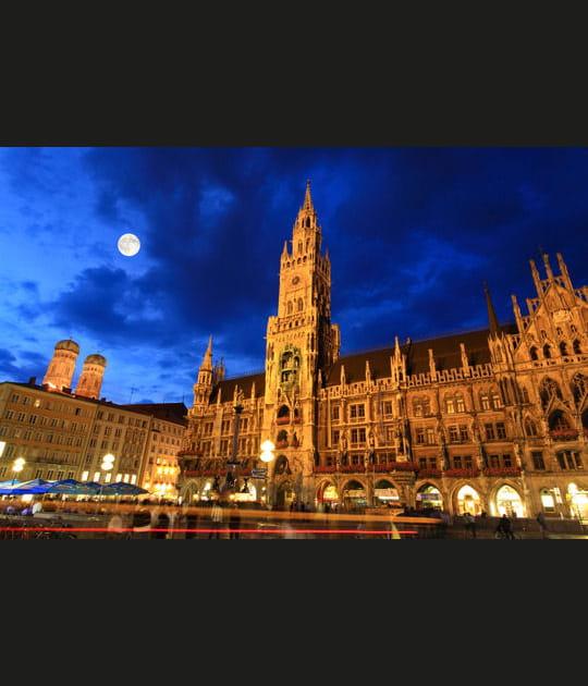 Munich, capitale de la Haute-Bavière