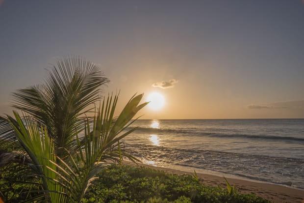 Coucher de soleil de Guadeloupe