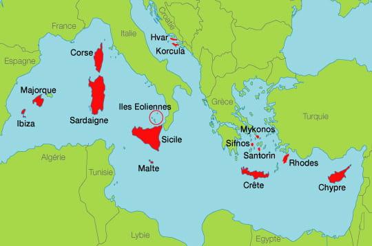carte-mediterranee - Photos