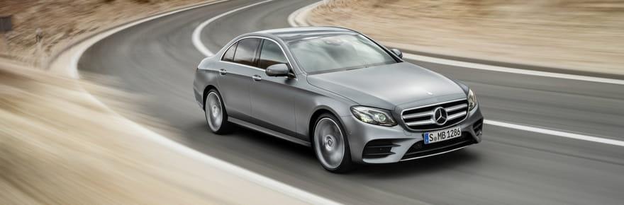 Mercedes Classe E : les taxis vont l'adorer !