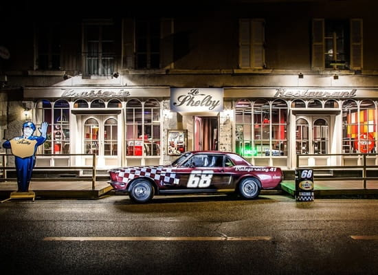 Le shelby restaurant vintage  - façade -   © gerant