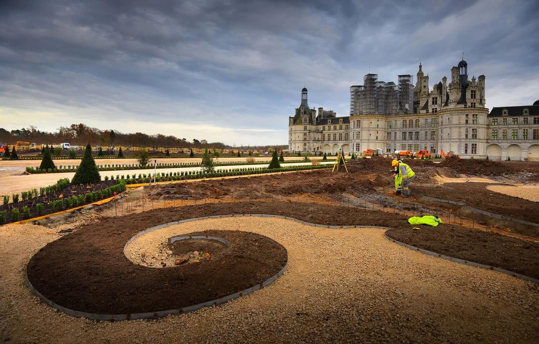 Le ch teau de chambord a retrouv ses jardins la fran aise for Jardin a la francaise chambord