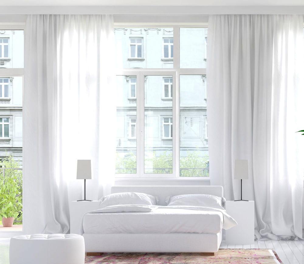 blanchir les rideaux. Black Bedroom Furniture Sets. Home Design Ideas