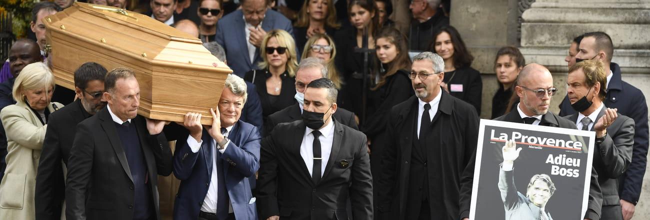 Les personnalités présentes à la messe hommage de Bernard Tapie