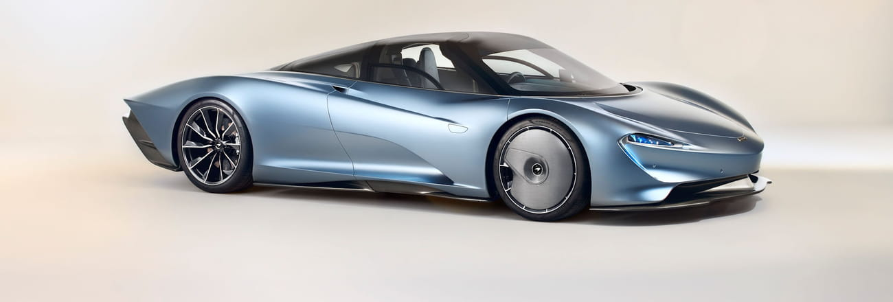 Les photos de la McLaren Speedtail