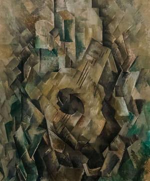 Georges Braque - La Mandoline