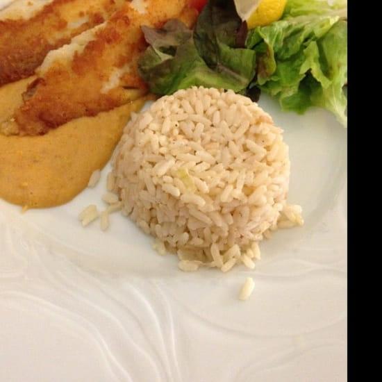 Plat : Restaurant des Voyageurs  - Poissons filet de dorade -