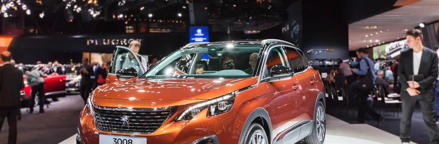 Le nouveau Peugeot 3008en images