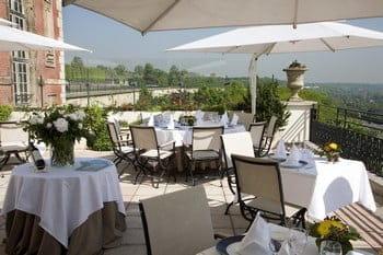 Pavillon Henri IV  - Terrasse panoramique -   © Apicius