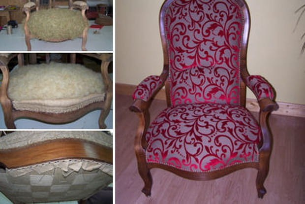 Restaurer un fauteuil voltaire - Restaurer un fauteuil ...