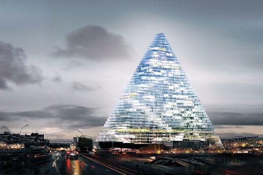 Projet Triangle: une pyramide géante à Paris