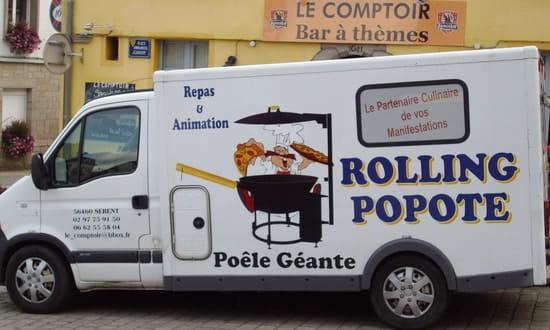 Le Comptoir Coté Table  - Service Événementiel & Poêle géante -   © Le Comptoir (Sérent)